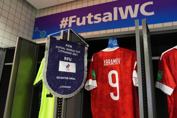 LTU: Football Union Of Russia v Argentina: Quarter Final - FIFA Futsal World Cup 2021