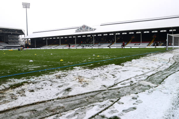 GBR: Fulham v Burnley: The Emirates FA Cup Fourth Round