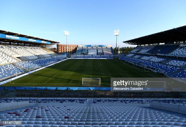 General view inside of the stadium ahead of the Serie A match between US Sassuolo and UC Sampdoria at Mapei Stadium - Città del Tricolore on April...