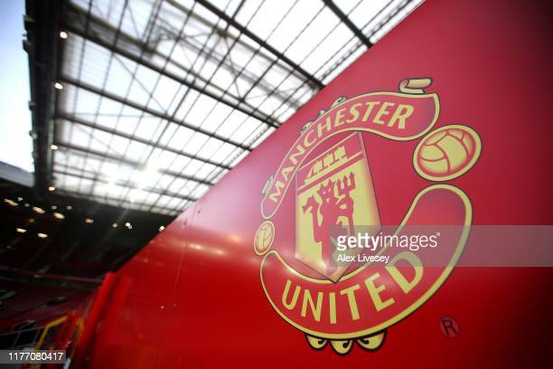 A general view inside Old Trafford is seen prior to the Carabao Cup Third Round match between Manchester United and Rochdale AFC at Old Trafford on...