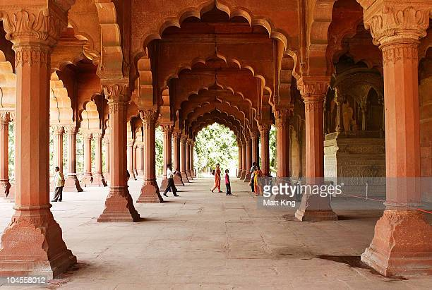 A general view inside Red Fort ahead of the Delhi 2010 Commonwealth Games on September 30 2010 in Old Delhi India
