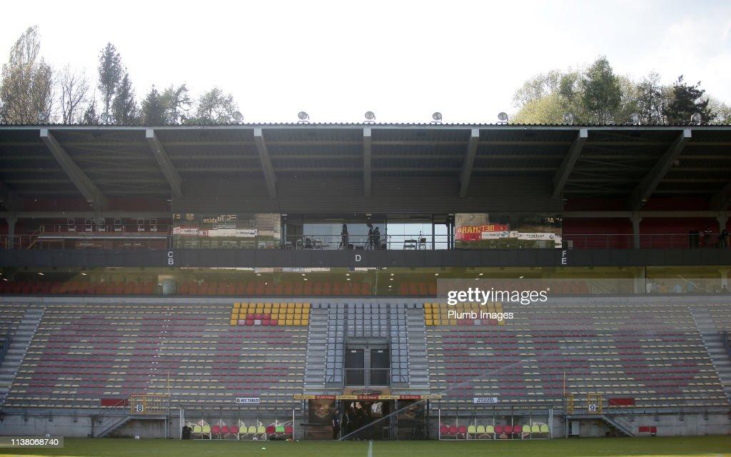 BEL: AFC Tubize v OH Leuven: Proximus League Relegation Play-Offs