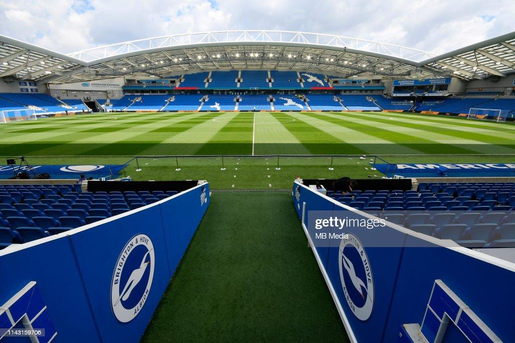 Brighton & Hove Albion v Manchester City - Premier League : Nachrichtenfoto