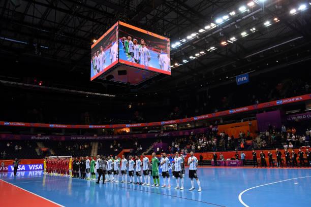 LTU: Argentina v Serbia: Group F - FIFA Futsal World Cup 2021