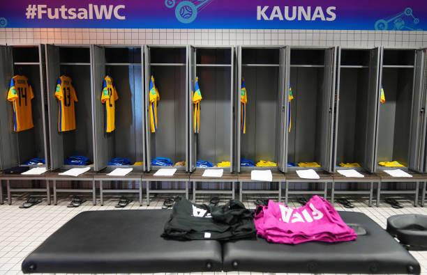 LTU: Brazil v Japan: Round of 16 - FIFA Futsal World Cup 2021