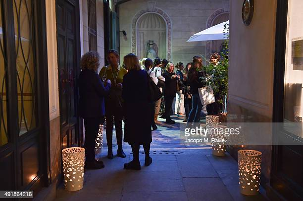 General view inside the Chantecler Shop during 'La Vendemmia 2015' The World's Finest Wine Lifestyle Experience on October 8 2015 in Milan Italy