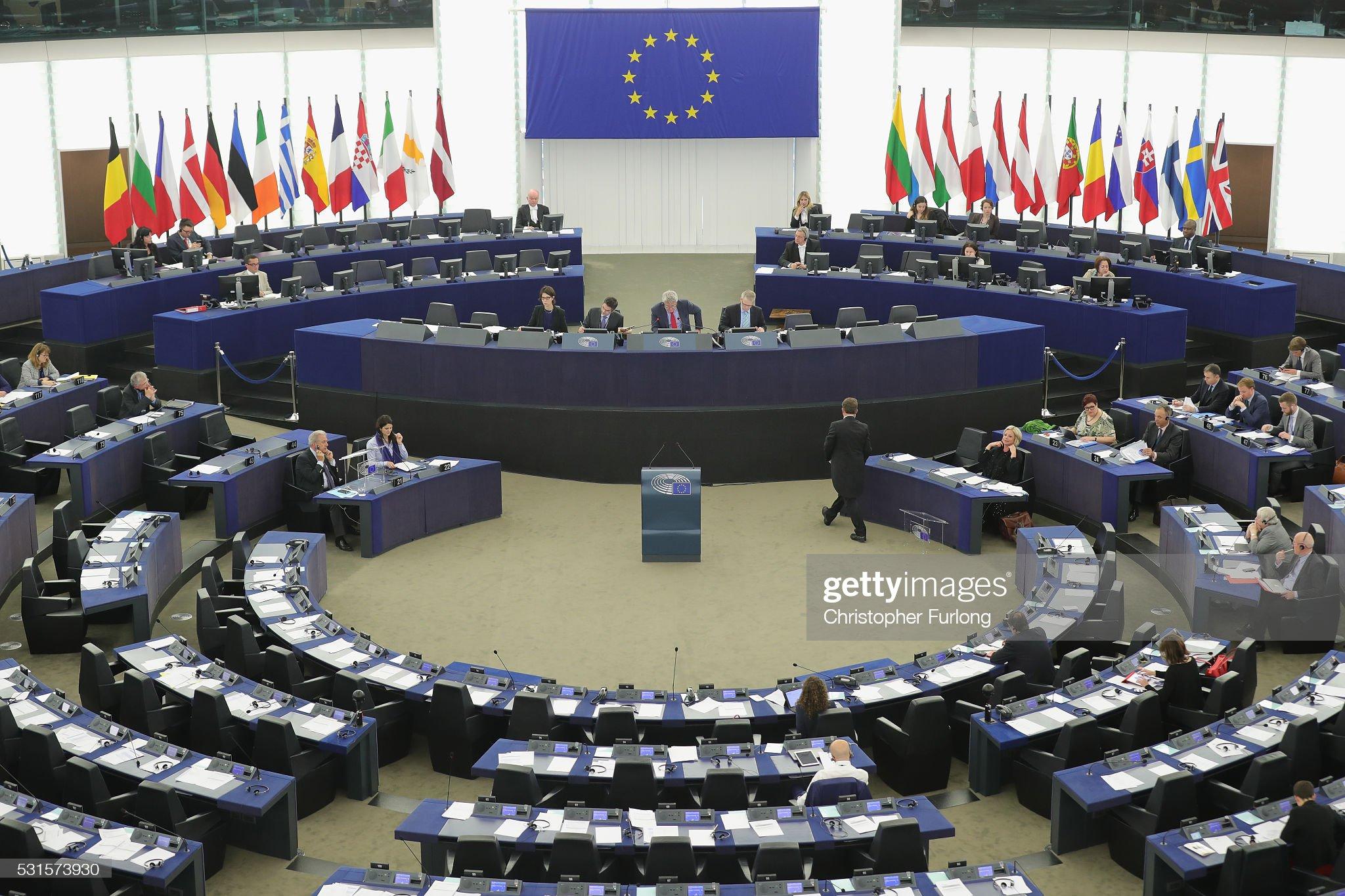 EU Referendum - Strasbourg The Seat Of The EU Parliament : News Photo