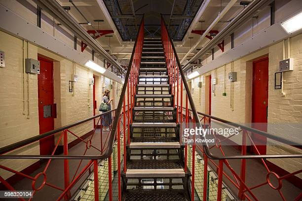 General view inside the former Reading prison building on September 1, 2016 in Reading, England. The former Reading Prison has opened to the public...
