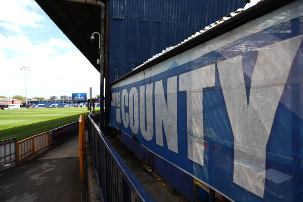 GBR: Stockport County v Torquay United - Vanarama National League