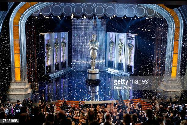 TELECAST*** A general view inside the Kodak Theatre during the 79th Annual Academy Awards at the Kodak Theatre on February 25 2007 in Hollywood...