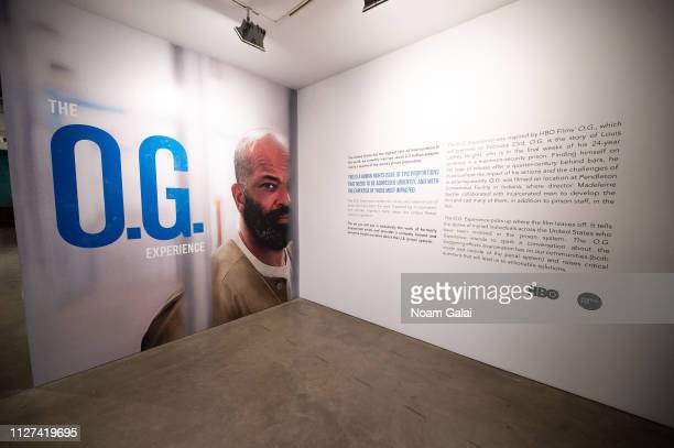 General view inside The OG Experience by HBO at Studio 525 on February 23 2019 in New York City