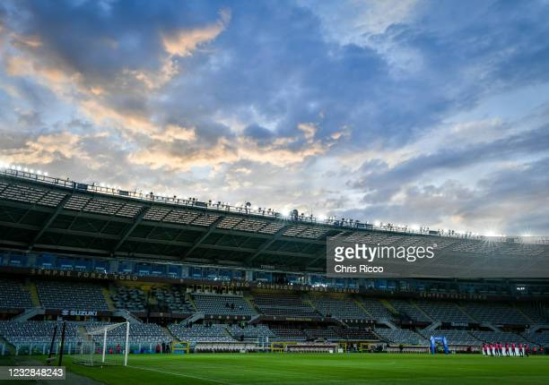 General view inside the Stadio Olimpico di Torino prior to the Serie A match between Torino FC and AC Milan at Stadio Olimpico di Torino on May 12,...