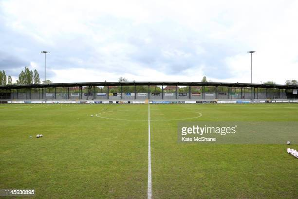 A general view inside the stadium ahead of the FA Women's Championship match between Millwall Lionesses and Manchester United Women at Princes Park...