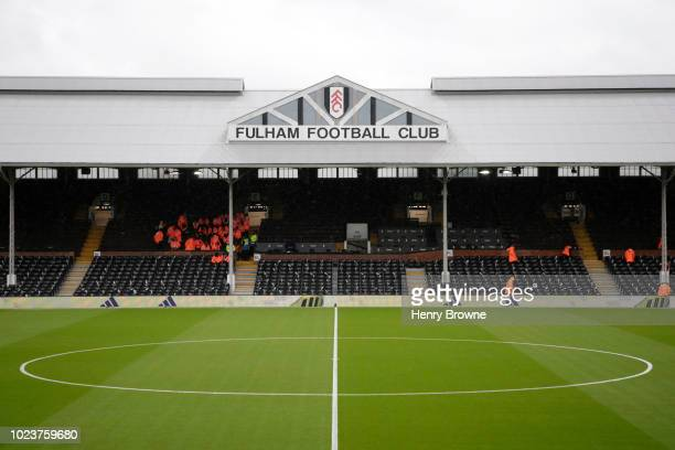 2 155 Craven Cottage Stadium Photos And Premium High Res Pictures Getty Images