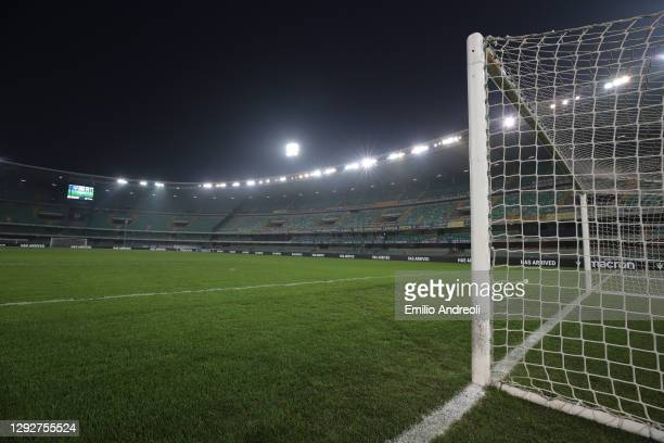 General view inside the stadium ahead of the Serie A match between Hellas Verona FC and FC Internazionale at Stadio Marcantonio Bentegodi on December...