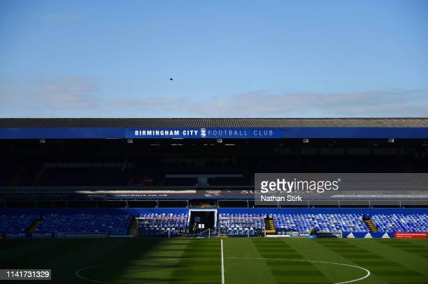 General view inside the stadium ahead of the Sky Bet Championship match between Birmingham City and Sheffield United at St Andrew's Trillion Trophy...