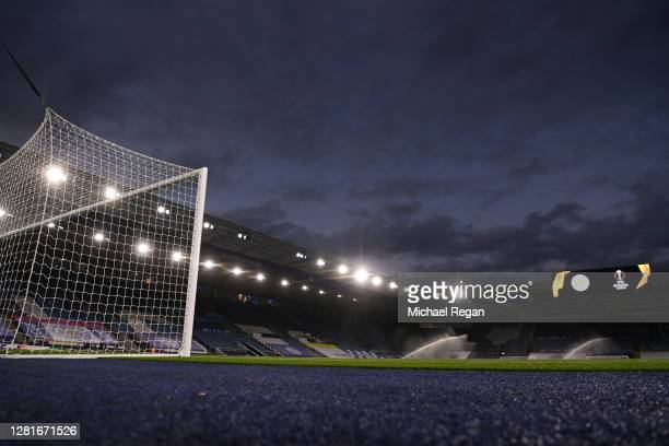 General view inside the stadium ahead of the UEFA Europa League Group G stage match between Leicester City and Zorya Luhansk at The King Power...