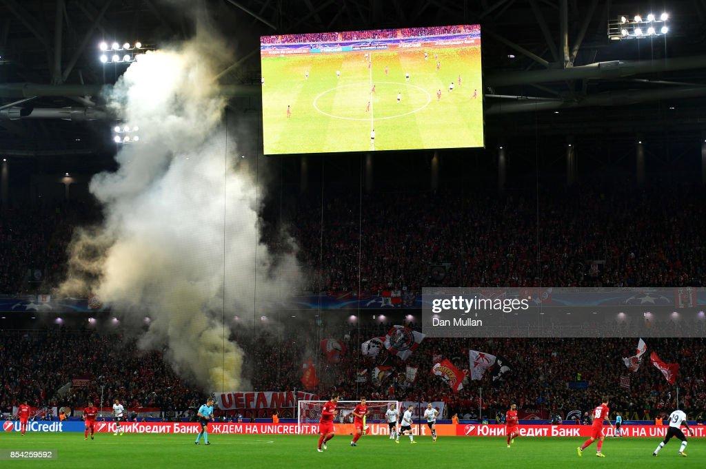 Spartak Moskva v Liverpool FC - UEFA Champions League : News Photo