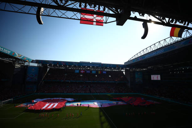 DNK: Denmark v Belgium - UEFA Euro 2020: Group B