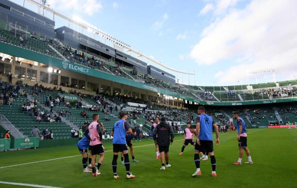 ESP: Elche CF v RCD Espanyol - La Liga Santander