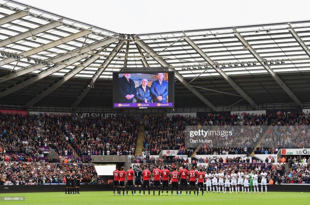 Swansea City v Manchester United - Premier League : ニュース写真