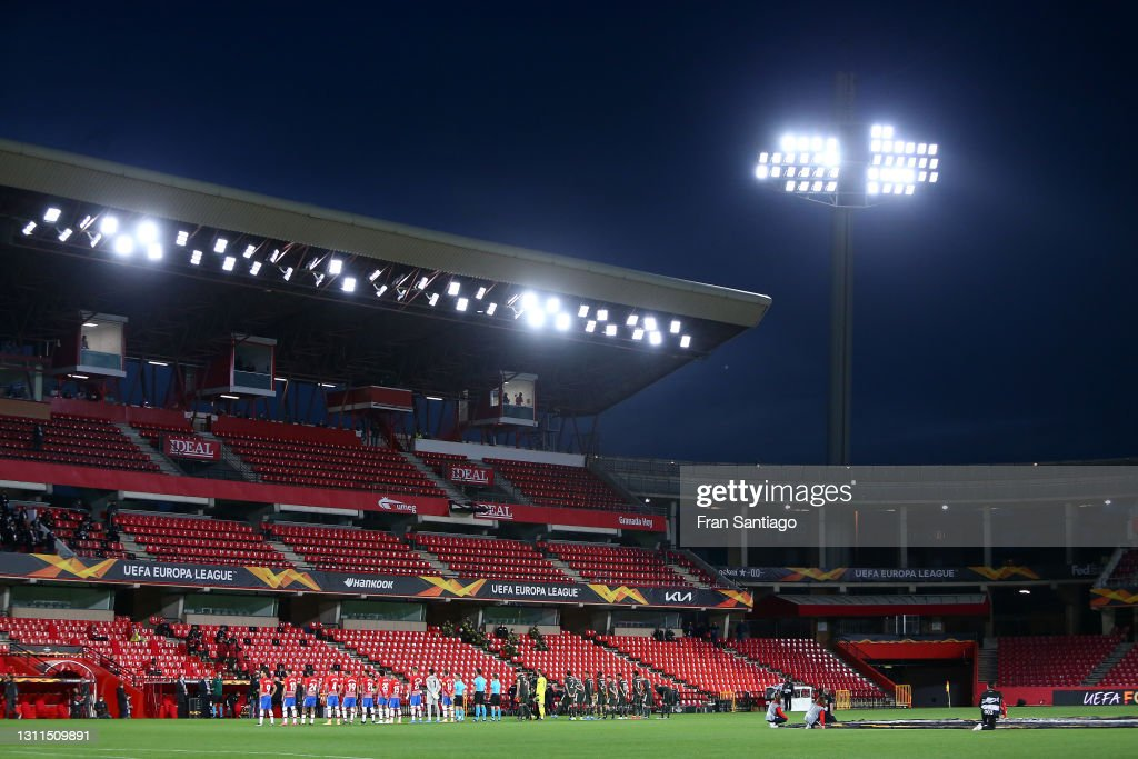 Granada CF v Manchester United - UEFA Europa League Quarter Final: Leg One : ニュース写真