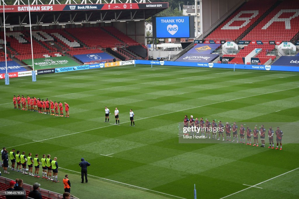Bristol Bears v Saracens - Gallagher Premiership Rugby : News Photo