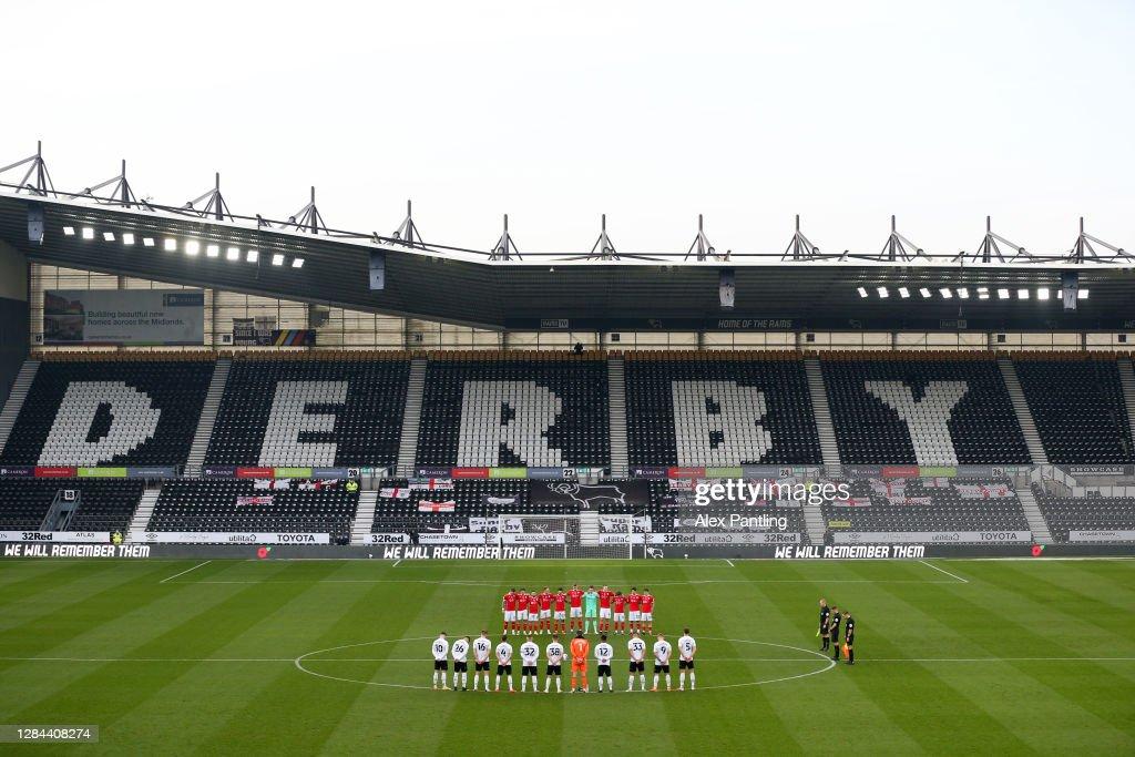 Derby County v Barnsley - Sky Bet Championship : ニュース写真