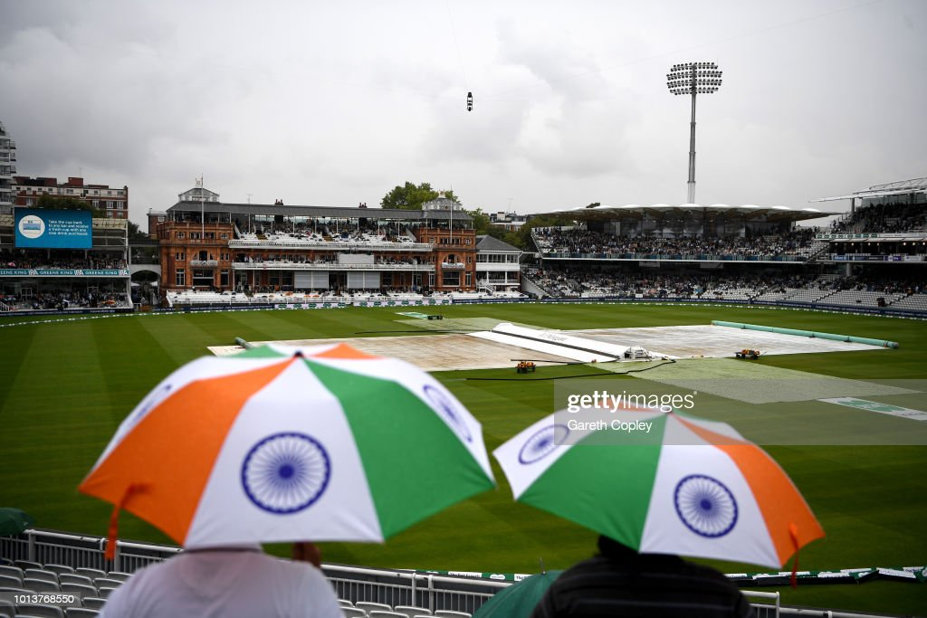 GBR: England v India: Specsavers 2nd Test - Day One