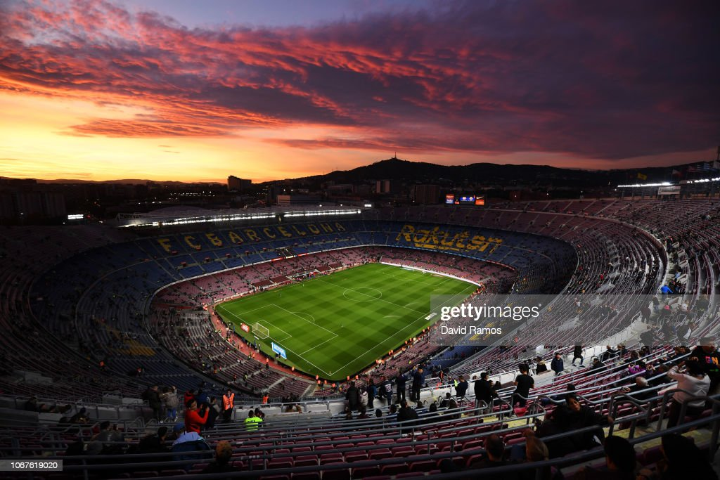FC Barcelona v Villarreal CF - La Liga : News Photo