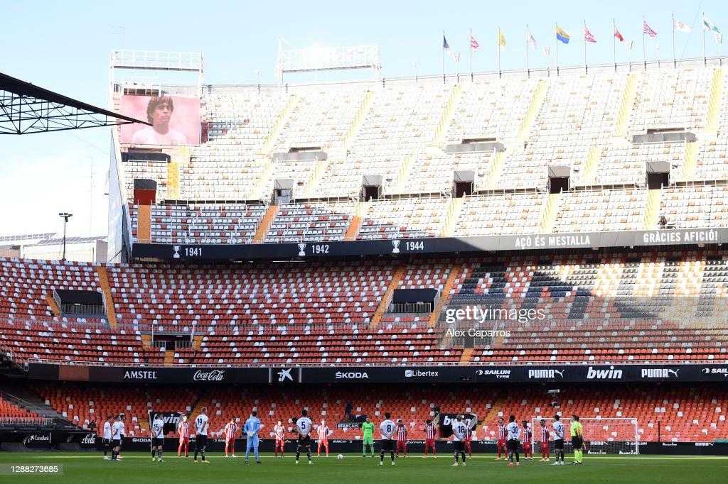 Valencia CF v Atletico de Madrid - La Liga Santander : ニュース写真