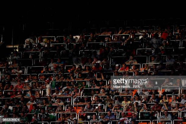 A general view inside the stadium during the 2018 FIFA World Cup Russia group F match between Mexico and Sweden at Ekaterinburg Arena on June 27 2018...
