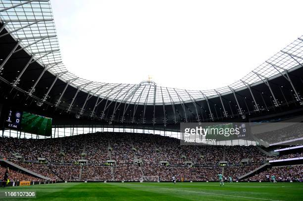 General view inside the stadium during the 2019 International Champions Cup match between Tottenham Hotspur and FC Internazionale at Tottenham...