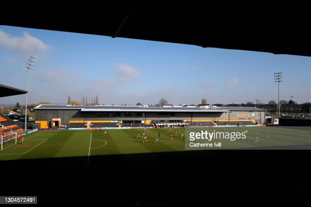 General view inside the stadium during the Barclays FA Women's Super League match between Tottenham Hotspur Women and Everton Women at The Hive on...