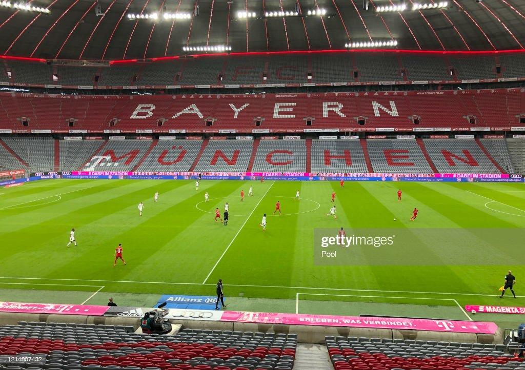 FC Bayern Muenchen v Eintracht Frankfurt - Bundesliga : News Photo