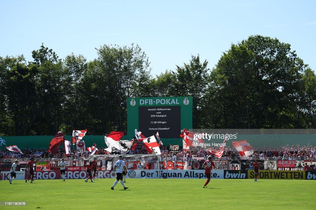 FC 08 Villingen v Fortuna Duesseldorf - DFB Cup : News Photo