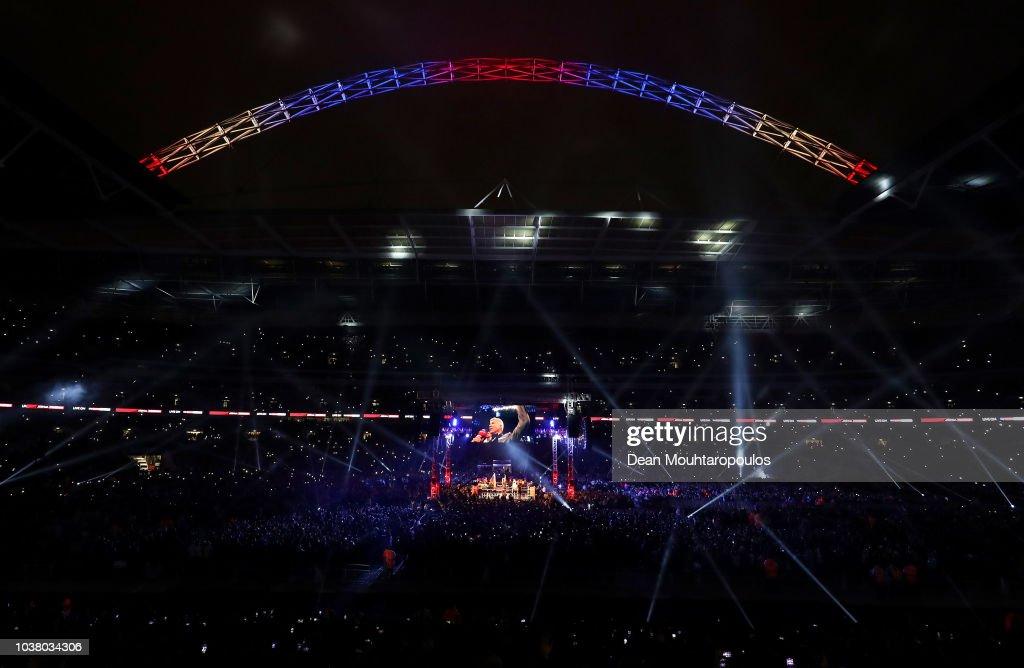 Anthony Joshua v Alexander Povetkin - World Heavyweight Title Fight : News Photo
