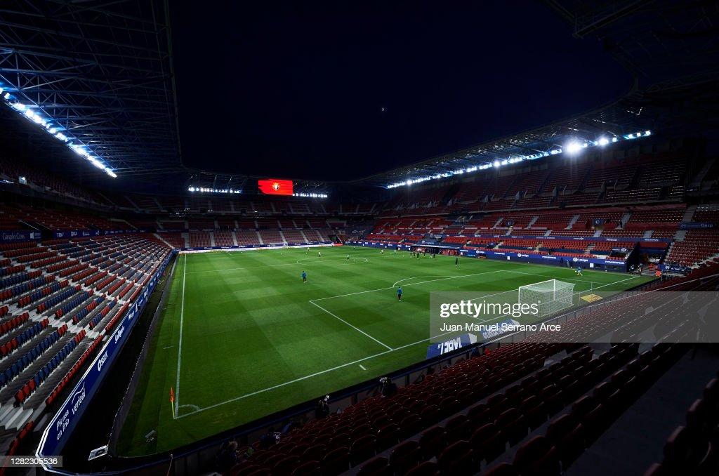 C.A. Osasuna v Athletic Club - La Liga Santander : ニュース写真