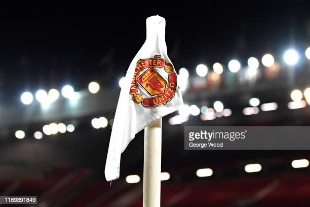 A general view inside the stadium during the Premier League 2 match between Manchester United and Sunderland at Old Trafford on November 22 2019 in...