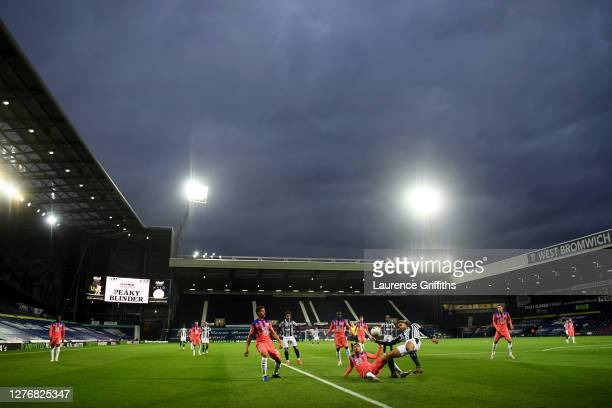 A general view inside the stadium during the Premier League match between West Bromwich Albion and Chelsea at The Hawthorns on September 26 2020 in...