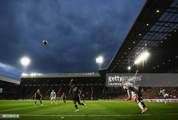 General view inside the stadium during the Premier League match between West Bromwich Albion and Chelsea at The Hawthorns on May 12 2017 in West...