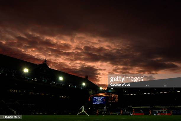 General view inside the stadium during the Sky Bet Championship match between Sheffield Wednesday and Cardiff City at Hillsborough Stadium on...