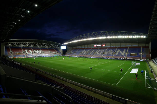 GBR: Wigan Athletic v Peterborough United - Sky Bet League One