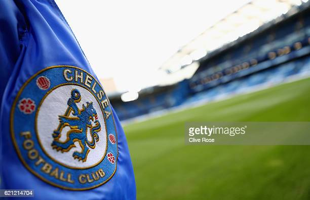 General view inside the stadium prior to kick off during the Premier League match between Chelsea and Everton at Stamford Bridge on November 5 2016...