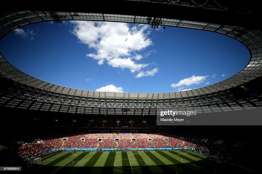 Portugal v Morocco: Group B - 2018 FIFA World Cup Russia : Nachrichtenfoto