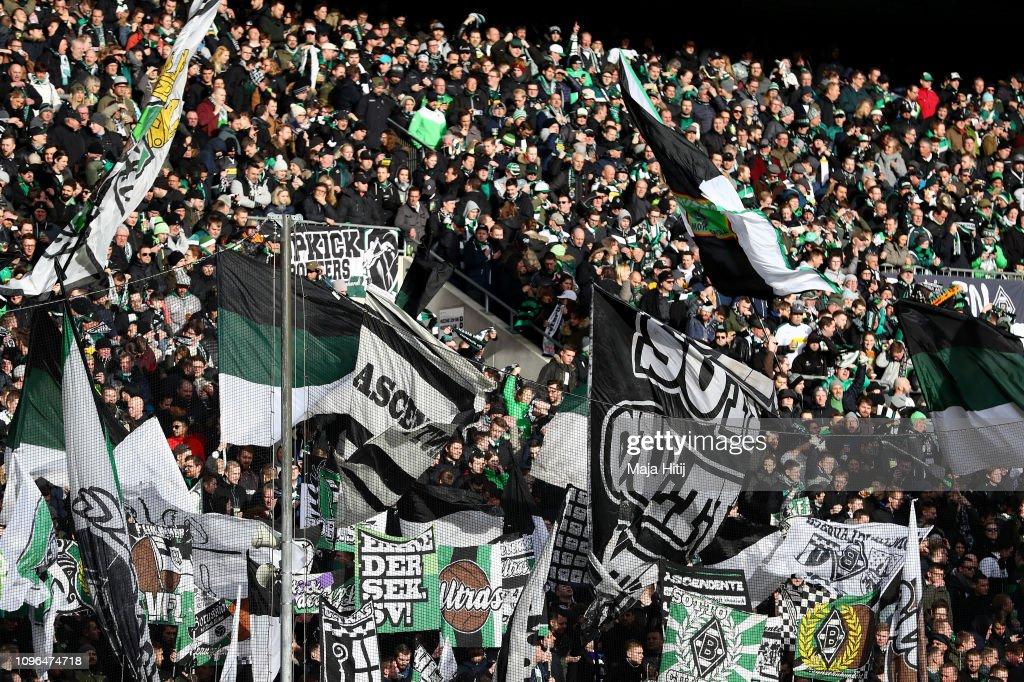 Borussia Moenchengladbach v Hertha BSC - Bundesliga : Nachrichtenfoto