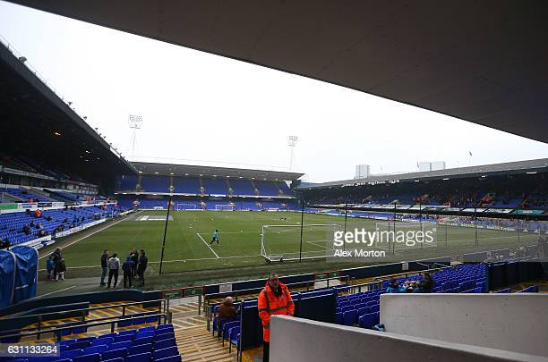 A general view inside the stadium prior to the Emirates FA Cup third round match between Ipswich Town and Lincoln City at Portman Road on January 7...