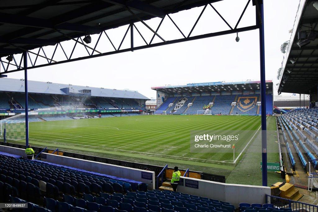 Portsmouth FC v Barnsley FC - FA Cup Fourth Round : News Photo