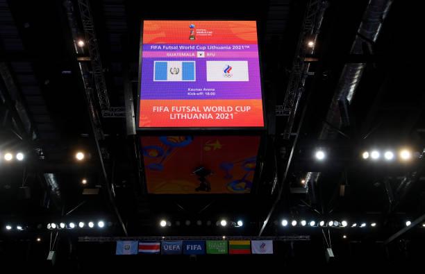LTU: Guatemala v Football Union Of Russia: Group B - FIFA Futsal World Cup 2021
