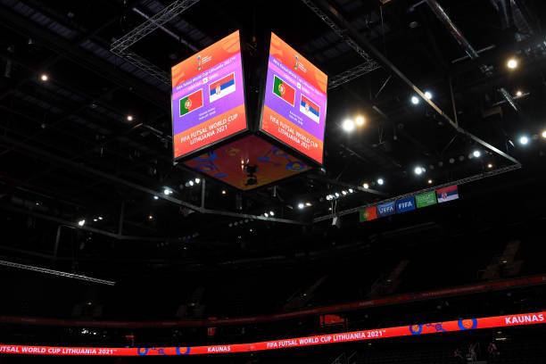 LTU: Portugal v Serbia: Round of 16 - FIFA Futsal World Cup 2021